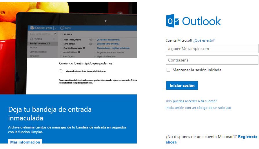 Cómo crear una cuenta de Outlook