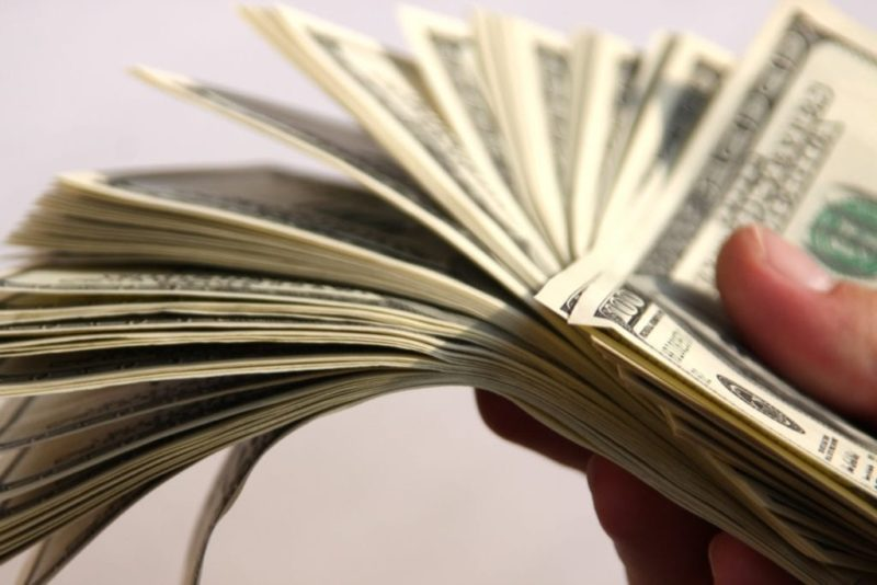 de crédito de dinero se deposita