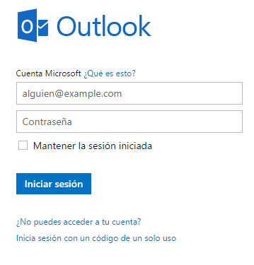 recuperar correo Outlook