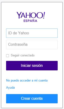 recuperar correo Yahoo