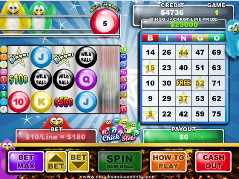 Bingo Chick Slots PREMIUM