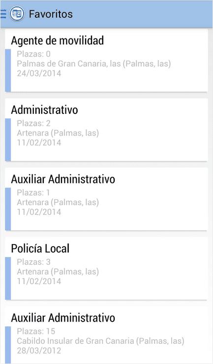 Oposiciones App