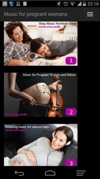 Música parala mujer embarazada