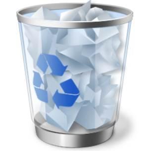 No aparece la papelera de reciclaje en Windows 8