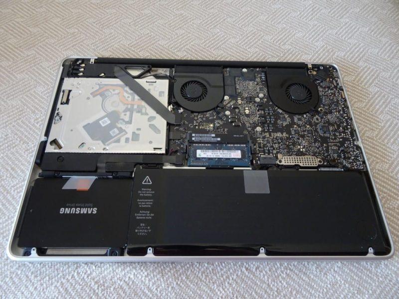 Cómo instalar un segundo disco SSD en un Mac b