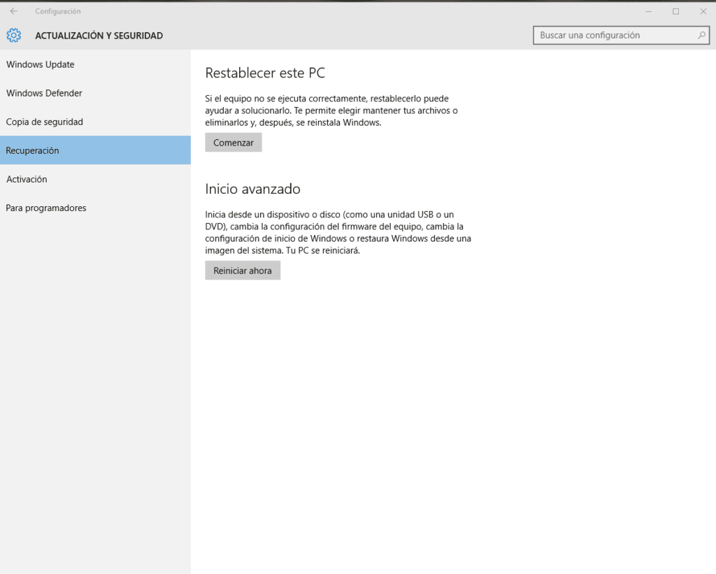 Cómo realizar una instalación limpia de Windows 10