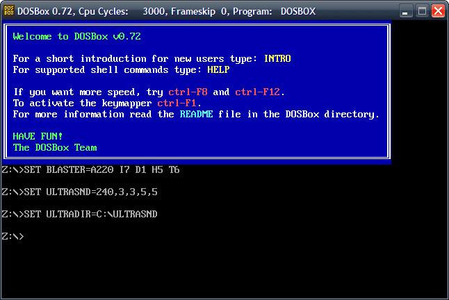 Jugar a juegos desarrollados para MS-DOS en un PC nuevo b