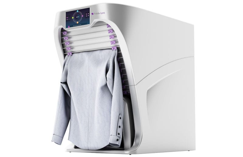FoldiMate seca, plancha y dobla la ropa por ti b