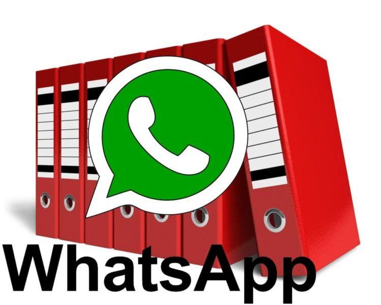 Archivar conversaciones de WhatsApp