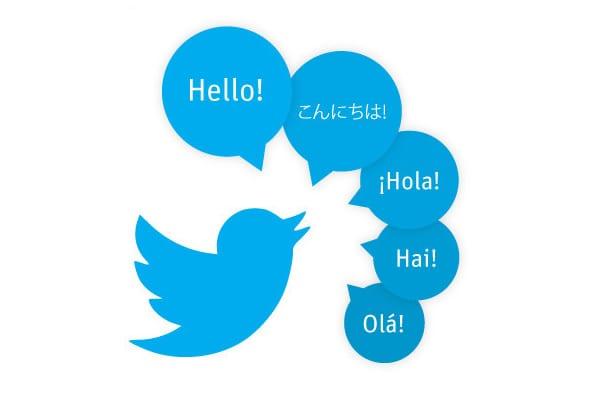 Cambiar idioma en Twitter
