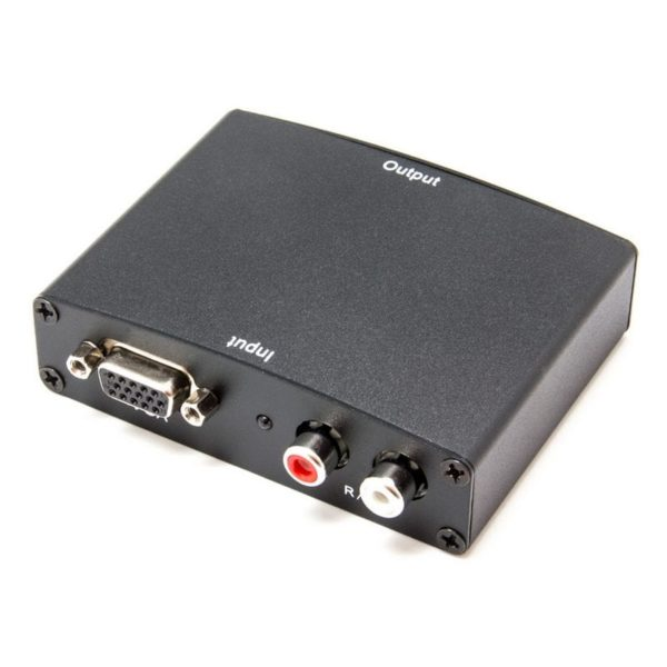 VGA a HDMI con sonido