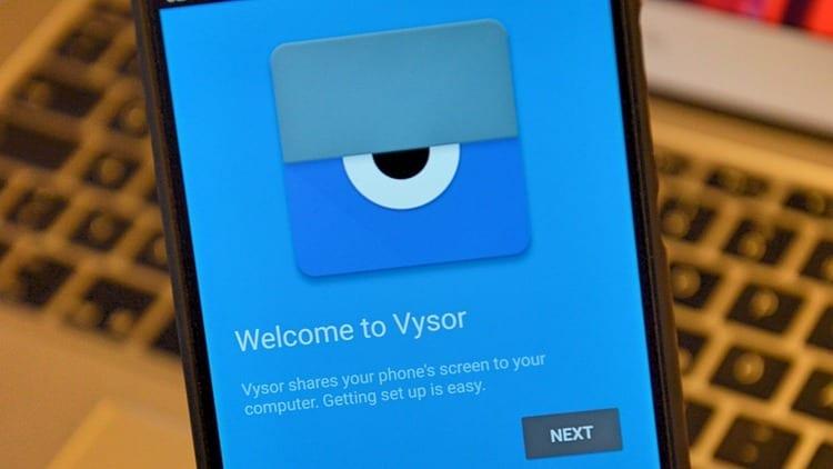 Vysor: Android para PC
