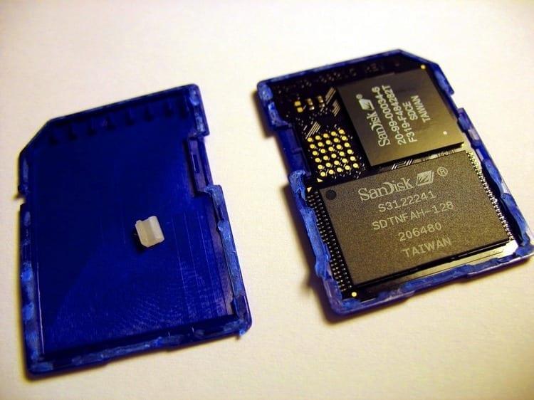 formato discos externos micro sd