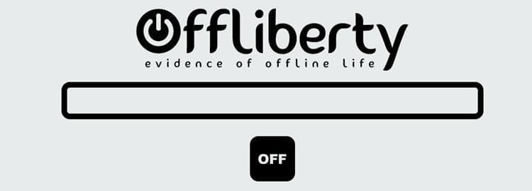 Página principal de OffLiberty