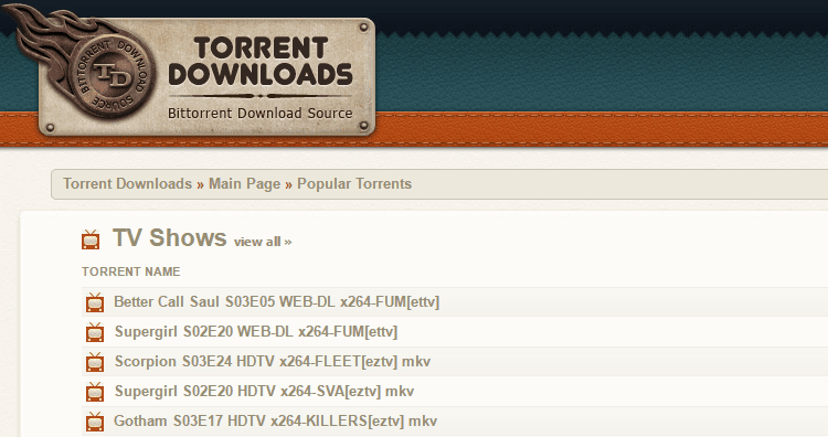 torrents Torrentdownloads