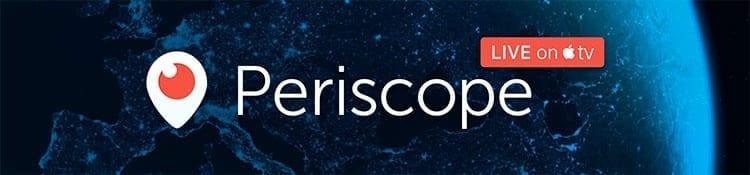 Borrar una cuenta en Periscope