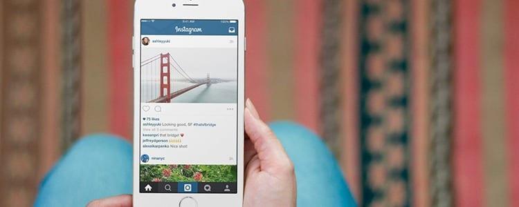 Aplicación de Instagram para iPhone