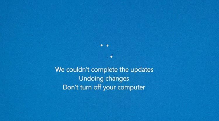 Error de Windows Update