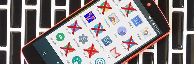Eliminar el bloatware de Android