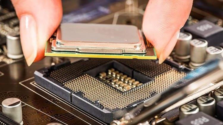 Partes de una computadora: microprocesador