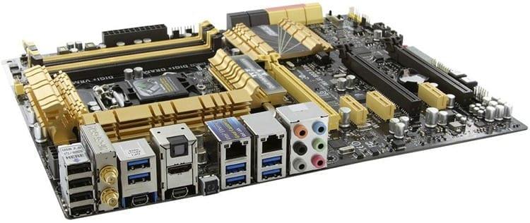 Partes de una computadora: Placa madre