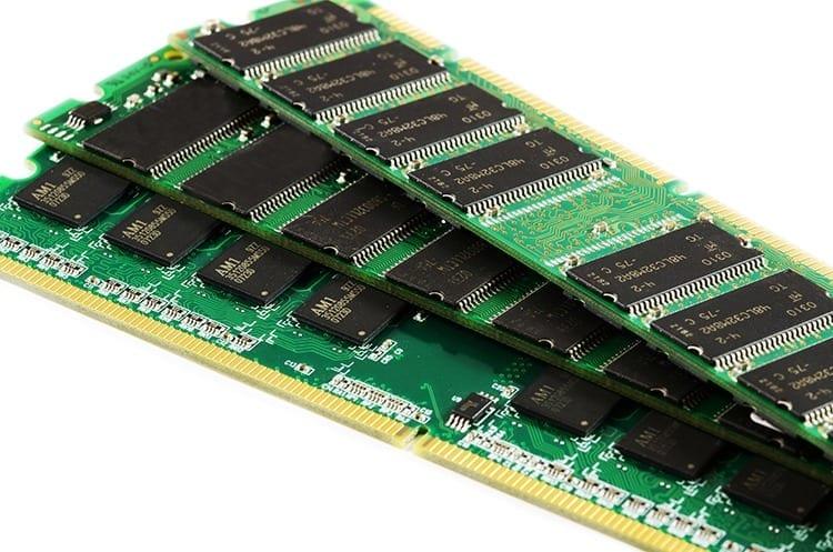 Partes de una computadora: Memoria RAM