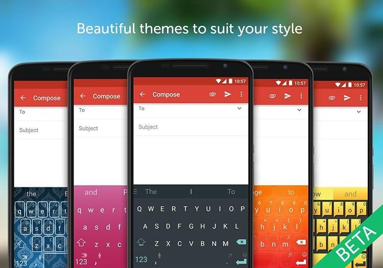 SwiftKey teclado para Android