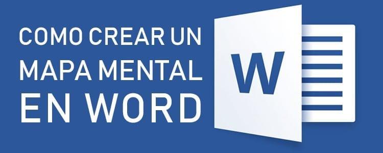 Cómo crear un mapa mental en Word