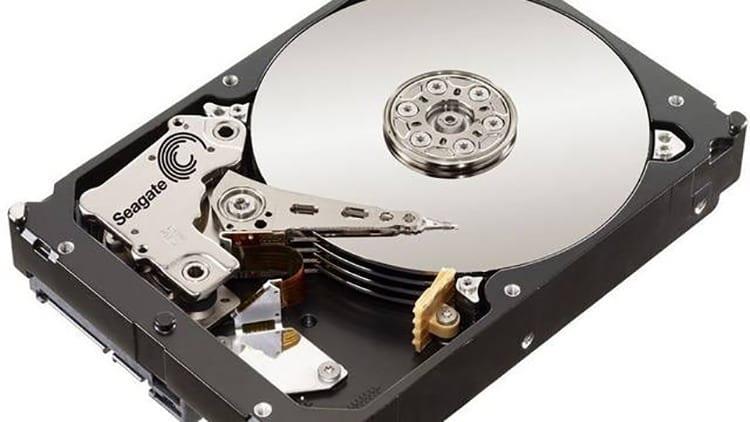 Imagen de un disco duro HDD
