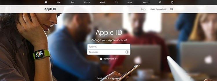 Inicio de sesión con Apple ID