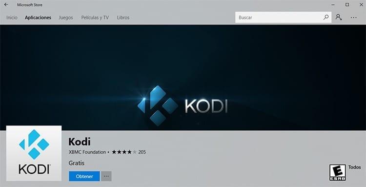 Descargar Kodi para Windows