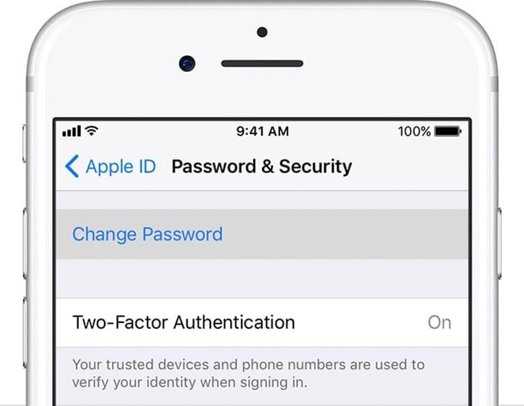 Activar la verificación en dos pasos en Apple ID