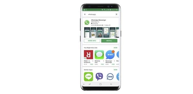 WhatsApp para Samung