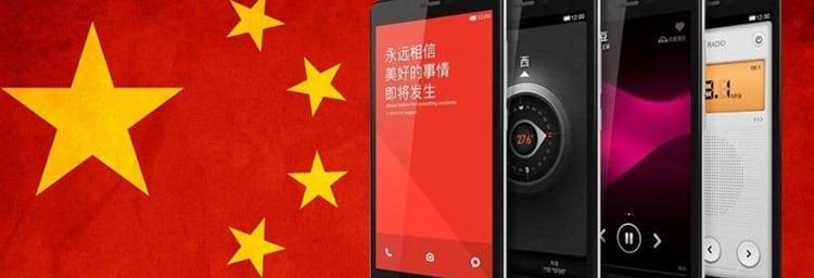 Mejores móviles chinos 2018