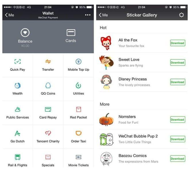 WeChat alternativa a WhatsApp