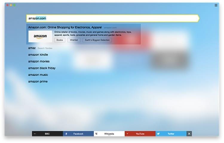 Navegador Yandex Browser
