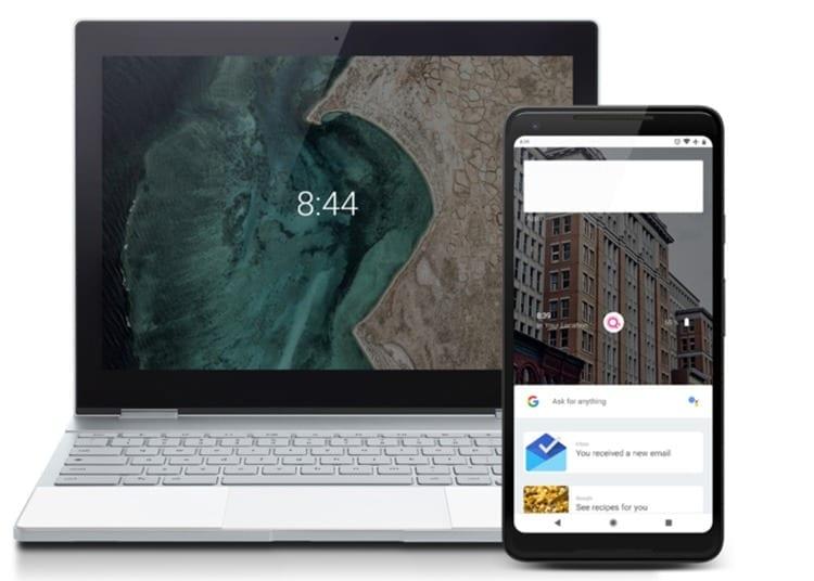 Demo web de Fuchsia OS