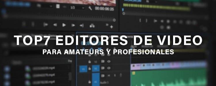 mejores editores de vídeo