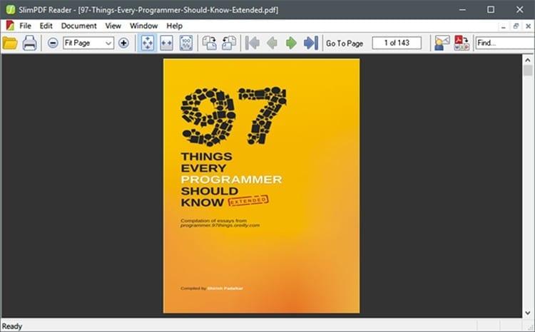 Slim PDF Reader