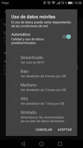 Uso de datos en Netflix