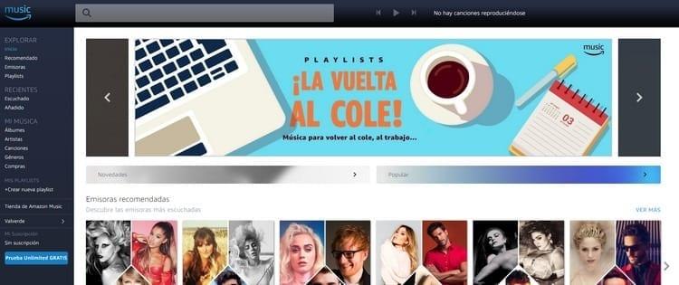 Amazon Musica Unlimited