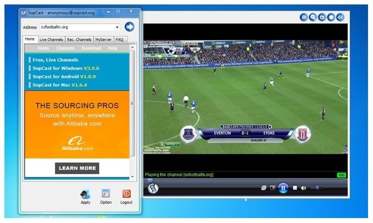 ver futbol gratis sopcast