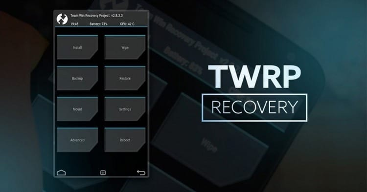 Instalar TWRP Recovery