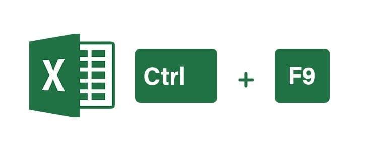 Atajos de teclado Excel