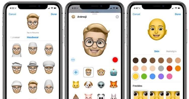 Nuevos Memojis iOS 12