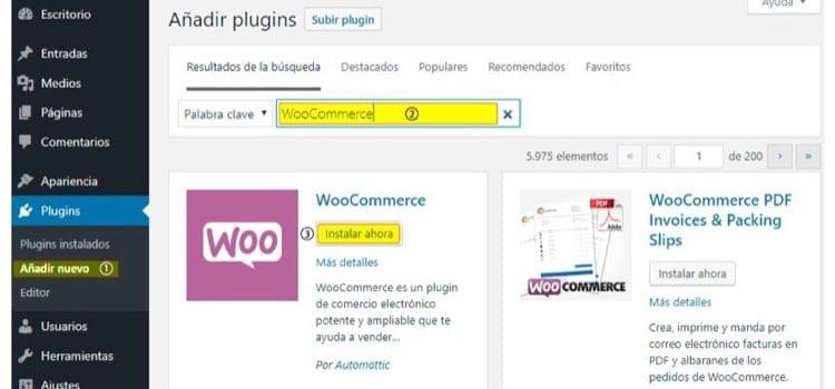 Woocommerce: plugin paraWordPress