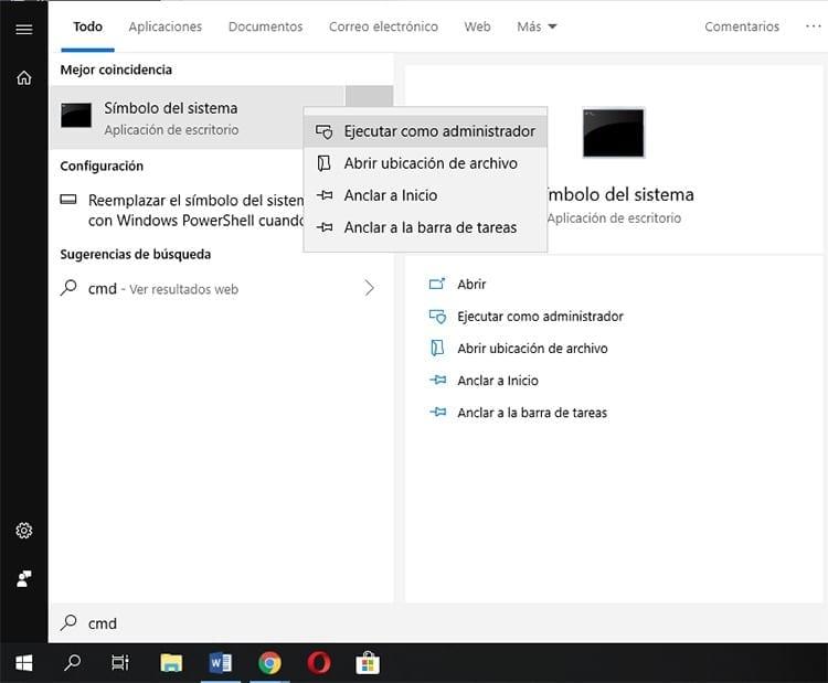 Solución Microsoft Store desde CMD