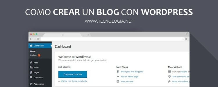 Como crear un blog con wordpress.org