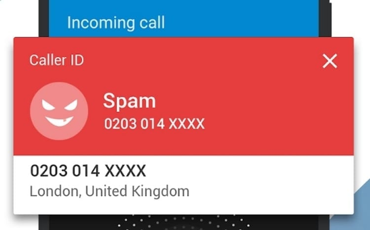 Identificador de llamadas y bloqueador de llamadas