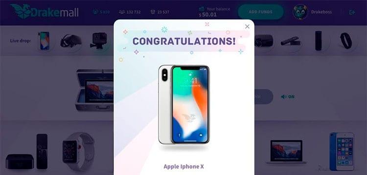 Ganar un iPhone X